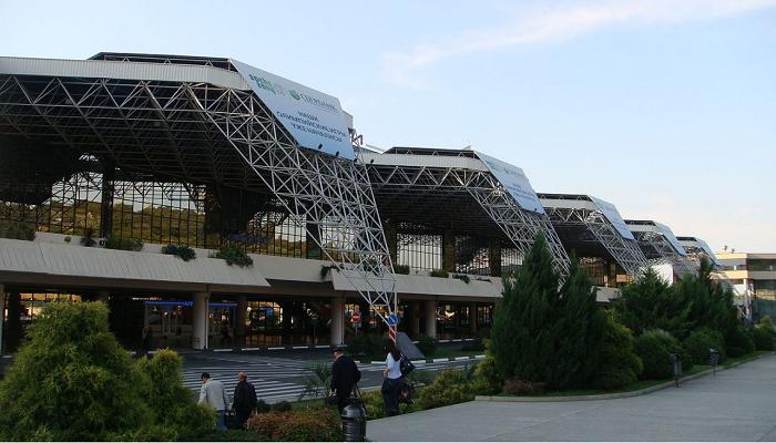 Здание нового аэровокзала аэропорта Сочи (AER)