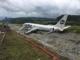 Самолет выкатился за пределы ВВП в аэропорту Сочи (01.09.2018)