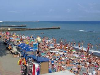 В Сочи неслыханный наплыв туристов