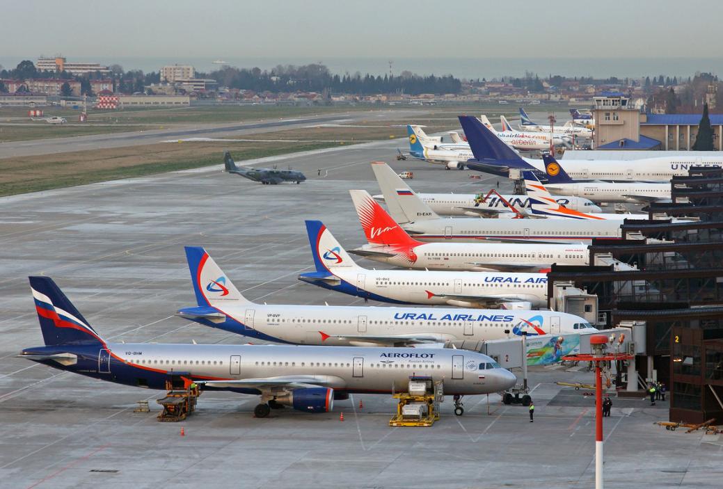 Аэропорт Сочи перешел на осенне-зимнее расписание
