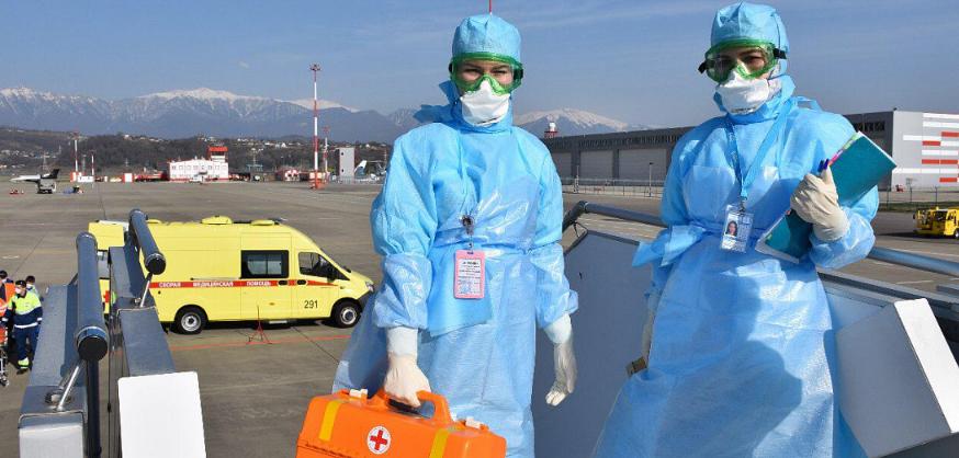 Актуальная информация о коронавирусе в аэропорту Сочи