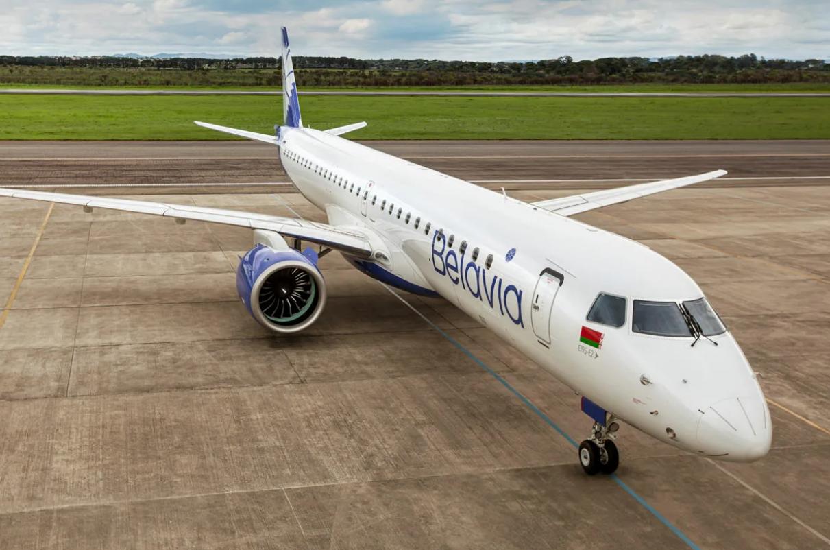 Belavia - Embraer E195-E2